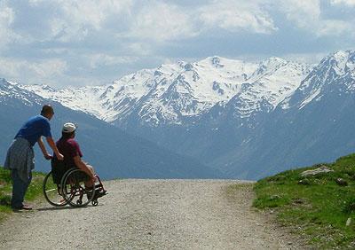 Berge erklimmen. Selbstbestimmt leben.