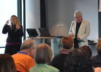 Beim Festakt: Rede Ernst Pechlaner.